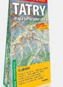 Comfort!map Tatry. Mapa panoramiczna w.2020